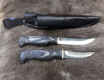 Doubleknife with opening knife, black - 23AVKM