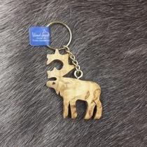 Keyring Reindeer with chain
